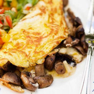 lchf omelett recept