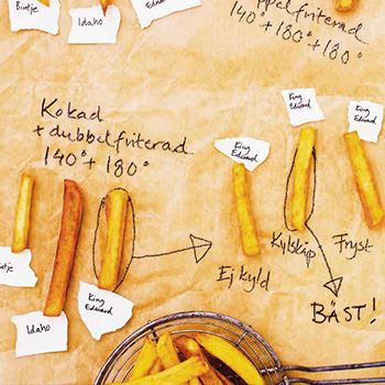 fritera kokt potatis