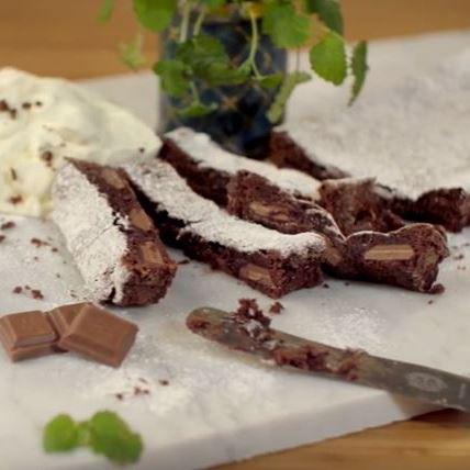 marabou mjölkchoklad kladdkaka