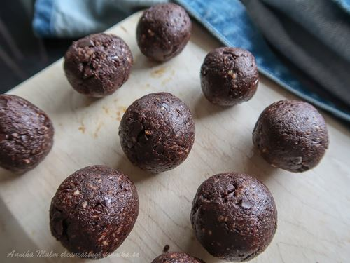 choklad lakrits recept