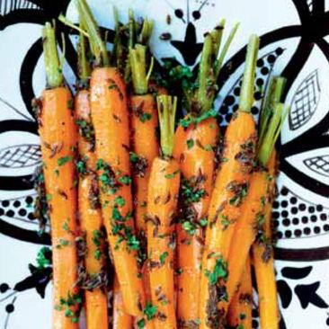 Kumminkokta morötter
