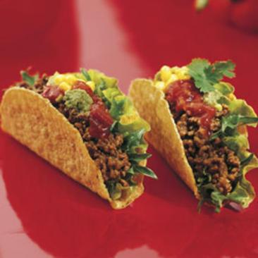 vegetarisk färs tacos