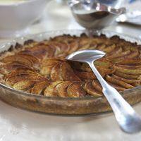Widells Äppelpaj med vaniljsås
