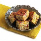 Frittata på majs, chili och salami (Scan)