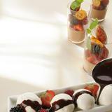 Kokos-choklad pannacotta