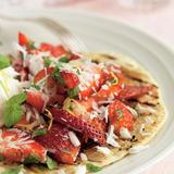 Strawberry pepper tortilla
