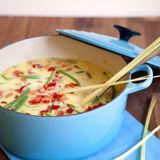 Tom Kha Gai Thailändsk kycklinggryta med ris