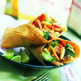 Tropical Fajita Wrap